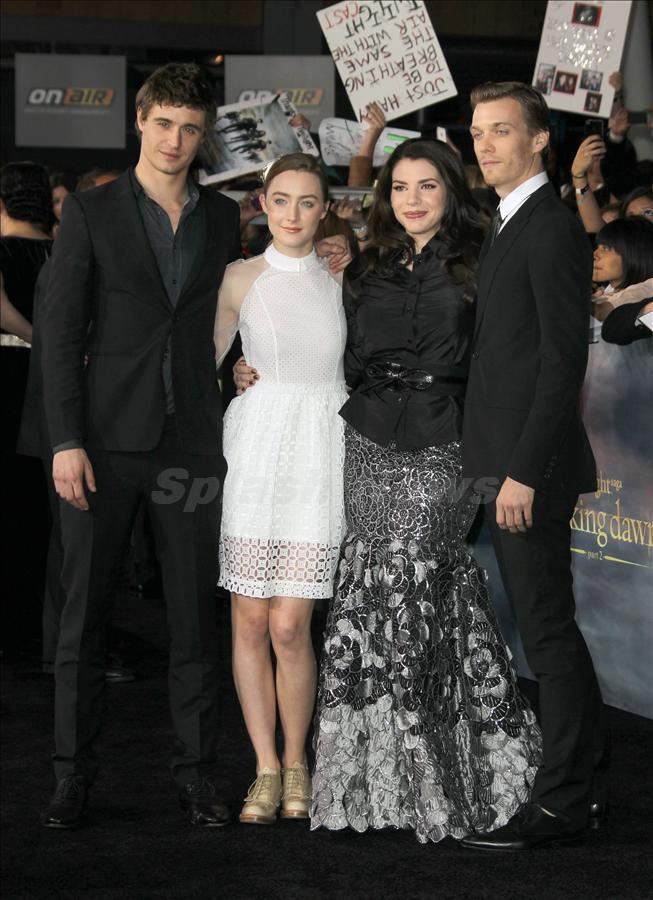 The Host Cast and Steph at  BD Premiere