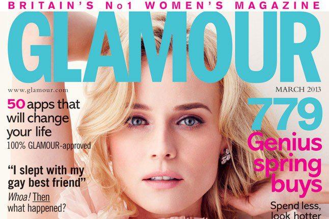 Glamour Mag Diane Kruger