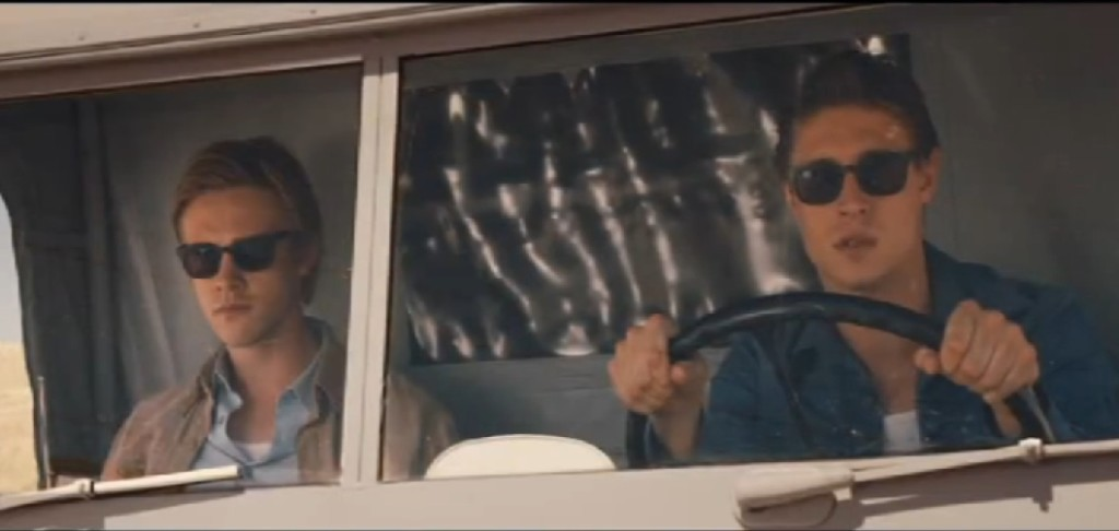 Jared and Kyle in Truck