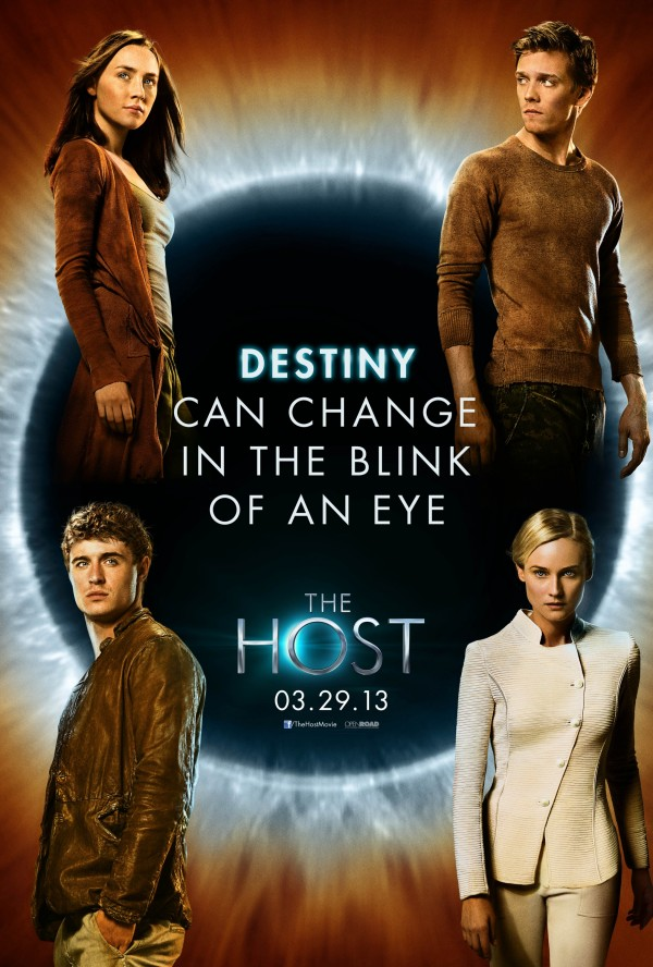 The Host Character Posters Together